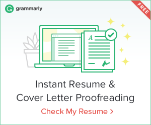 instant cover letter proofreading